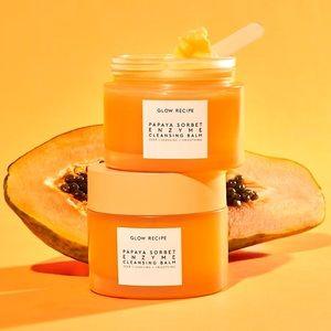 NIB GLOW RECIPE Papaya Sorbet Enzyme Cleansing